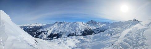 Панорама в Франции Стоковое фото RF