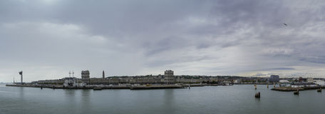 Панорама Гавр Стоковое фото RF