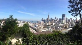 Панорама горизонта Сан-Франциско Стоковое Изображение