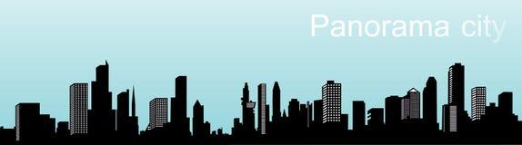 панорама города Стоковая Фотография RF