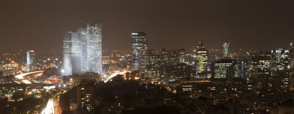 панорама городского пейзажа Стоковое Изображение RF