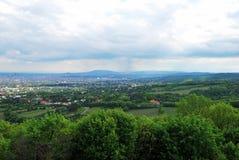 Панорама города вены Стоковые Изображения