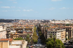 Панорама города Рима Стоковые Фото