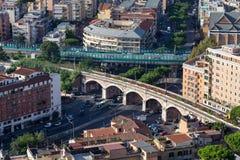 Панорама города Рима Стоковые Фотографии RF