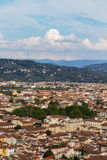 Панорама города Флоренса Стоковое фото RF