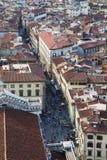 Панорама города Флоренса Стоковая Фотография RF
