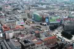Панорама города стоковое фото