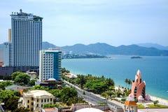 Панорама города Nha Trang Стоковое Фото
