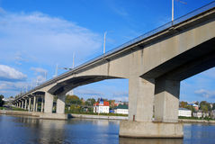 Панорама городка Kostroma Стоковое фото RF