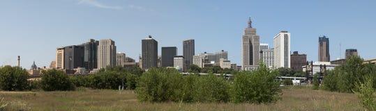 Панорама городского St Paul, Минесоты стоковые фото