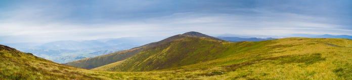 Панорама горы осени Стоковые Фотографии RF
