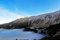 панорама горы Стоковое Изображение RF