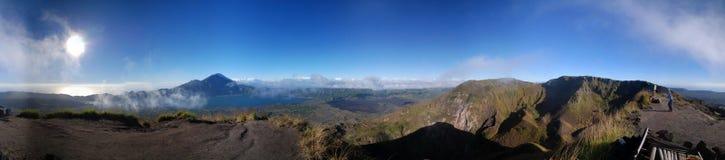 панорама горы Стоковые Изображения RF