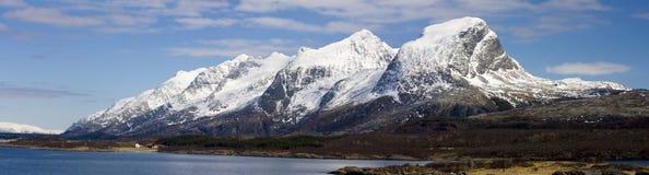панорама горы Стоковая Фотография