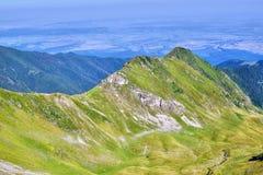 Панорама 2 горы Стоковые Изображения RF