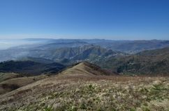 панорама горы fasce Стоковая Фотография RF