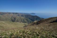 панорама горы fasce Стоковое фото RF