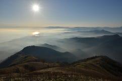 панорама горы fasce Стоковое Изображение RF