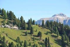 панорама гор Италии dolomiti Стоковые Фото
