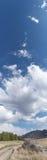 Панорама гор Колорадо, новый замок Стоковые Изображения