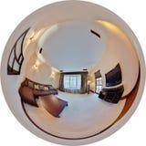 панорама гостиной Стоковые Фото