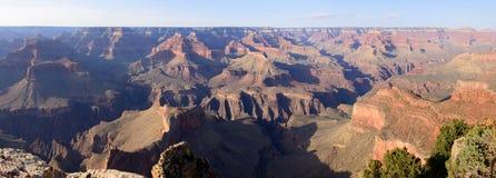 Панорама грандиозного каньона Стоковые Изображения