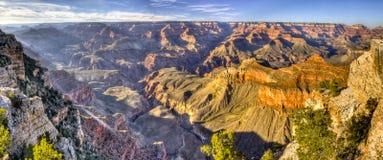 Панорама грандиозного каньона Стоковая Фотография