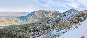 Панорама гребня горы Стоковая Фотография RF