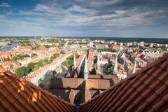 Панорама Гданьска Стоковая Фотография