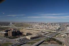 Панорама Далласа Стоковое Изображение RF