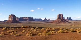 Панорама долины памятника Стоковые Изображения