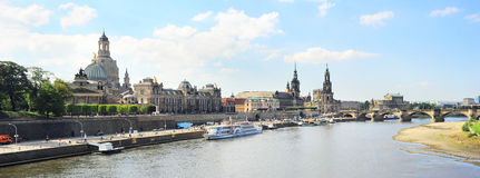 Панорама Дрезден Стоковая Фотография RF