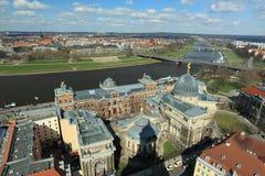 Панорама Дрездена стоковые изображения rf