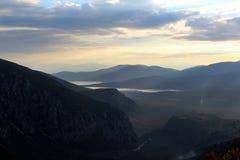 Панорама Дэлфи стоковая фотография rf