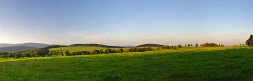 панорама европейца сельской местности Стоковая Фотография