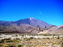 Панорама держателя Teide (Тенерифе, Испании) Стоковое Изображение