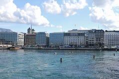 Панорама Женевы Стоковое Изображение RF