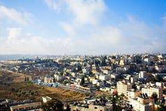 панорама Иерусалима города Стоковое Изображение RF