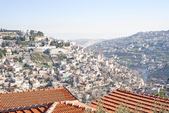 панорама Иерусалима старая Стоковая Фотография