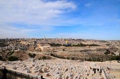 панорама Иерусалима Стоковое фото RF