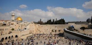 панорама Иерусалима Стоковое Изображение