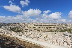 панорама Иерусалима города старая Стоковые Изображения RF