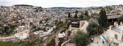 Панорама Иерусалима - Израиль Стоковое фото RF