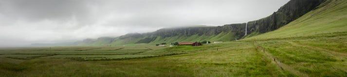 Панорама Исландии Стоковые Фотографии RF