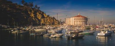 Панорама казино Каталины стоковые фото