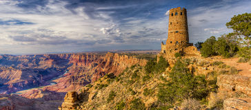панорама каньона грандиозная
