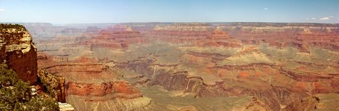 панорама каньона грандиозная стоковая фотография