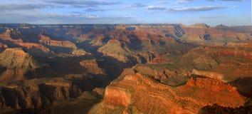 панорама каньона грандиозная Стоковая Фотография RF