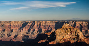 панорама каньона грандиозная Стоковое Изображение