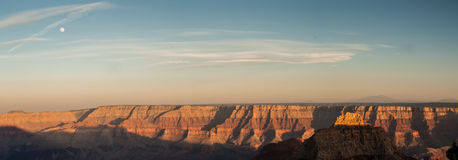 панорама каньона грандиозная Стоковые Фото